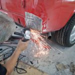 rust repair metal work - auto body shop Hendersonville