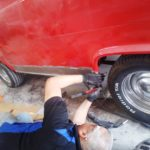 rust repair - new rocker panels - auto body shop AVL