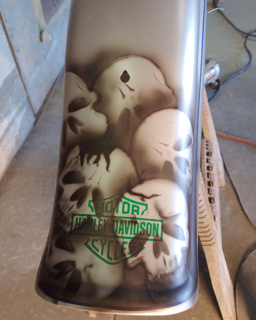 custom paint shop - Harley Davidson custom paint