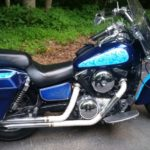 TD Customs Motorcycle - Lumilor - custom paint
