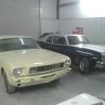 Auto body repair shop Mills River