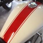 mills river custom motorcycle paint strip