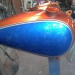 custom motorcycle paint job hendersonville nc
