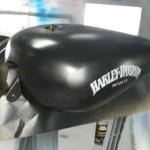 harley custom motorcycle paint job hendersonville
