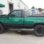 td customs truck paint job asheville