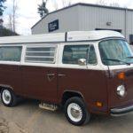 camper van paint job - TD Customs Asheville body shop