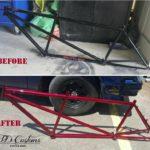 custom bicycle paint job Asheville
