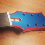 custom guitar paint job Asheville