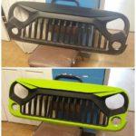 custom paint grille