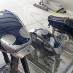custom motorcycle paint mills river