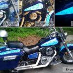 TD Customs' Light up Motorcycle | Lumilor electroluminescent paint