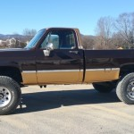 pickup truck paint job TD Customs