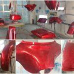 marble paint job Asheville bike shop