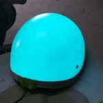light up paint helmet - Electroluminescent Paint Lumilor by TD Customs