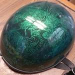 custom painted motorcycle helmet Asheville