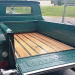 truck bed wood in 66 chevy Asheville body shop