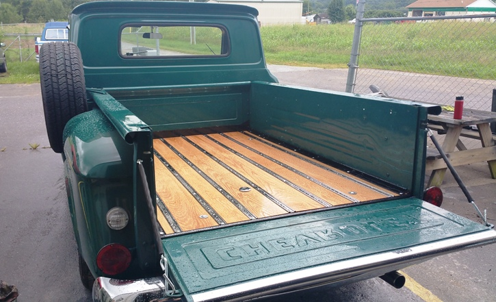Truck Bed Wood In 66 Chevy Asheville Body