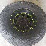 TD Customs custom painted wheels
