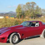 TD Customs Hendersonville auto body shop - Corvette race car paint job