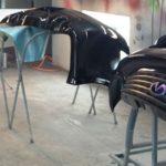 auto paint body kit parts
