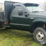 Asheville truck paint job F350