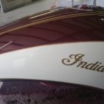 motorcycle paint job Indian