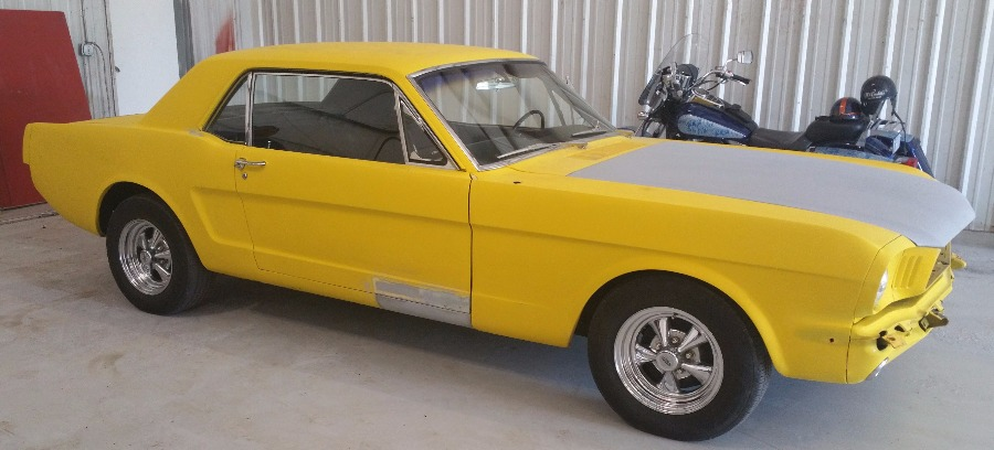 Nomoreyellow 64 Mustang Full Paint Job Td Customs