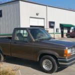 91 Ford Ranger pickup truck full paint job Asheville