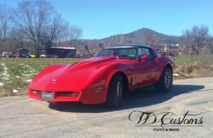 TD Customs corvette classic restoration