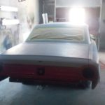 classic car ready for paint
