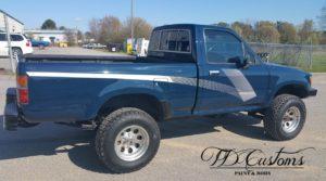TD Customs factory original truck paint job & restoration