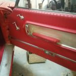 car door upholstery interior restoration