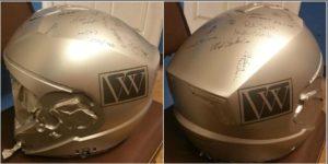personalized helmet - custom painted helmet