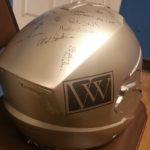 personalized helmet - custom painted signatures