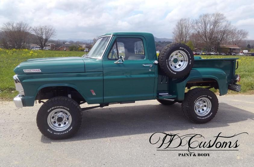 classic truck paint job TD Customs