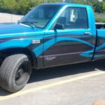 custom paint metal flake TD Customs