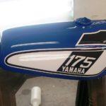 factory original motorcycle paint job
