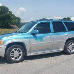 Custom painted SUV TD Customs paint job