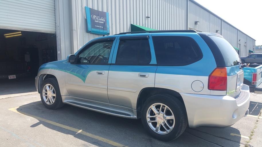 TD Customs custom painted SUV
