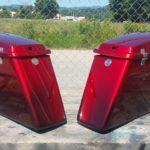 custom fade paint job Mills River motorcycle shop