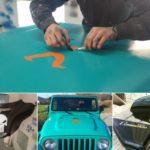 personalized custom painted logos emblems Hendersonville TD Customs