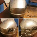 personalized helmet - custom painted motorcycle helmet