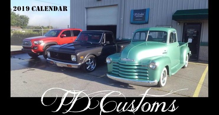 TD-Customs-2019-Calendar-Custom-Paint-Classic-Restorations
