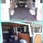 interior camper van restoration