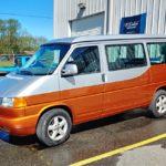 custom painted two toned van paint job - Mills River Hendersonville